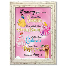 Personalised Mothers Day Gifts Disney Keepsake Birthday Christmas Mummy #83