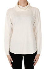 MICHAEL KORS New Woman Crema White Cashmere Wool Pullover Sweater