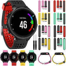 Silicone Replacement Strap Watch Band for Garmin Forerunner 230/235/630/735XT
