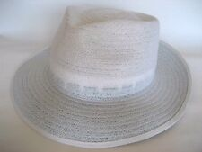NEW 'Kalgoorlie' Style White Lawn Bowls Hats CLEARANCE Half Price only $27.50