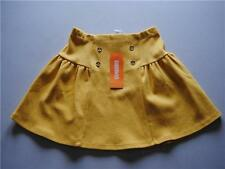 GYMBOREE Cape Cod Cutie Mustard Yellow Skirt Gold Buttons Size 6 NEW