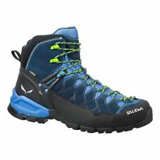 Salewa Alp Trainer Mid Gore-Tex Denim Mens Trainers