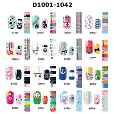 Full Self Beauty Nail Wraps Stickers Adhesive Polish Foils Decoration Art Decal