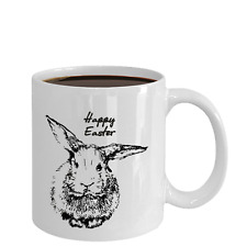 Happy Easter Coffee Mug - Best Gift Tea Cup for Friend, Mom, Dad, Granny