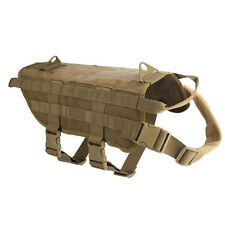 Tactical Military Dog Clothes Load Bearing Training Vest Harness Molle Jacket