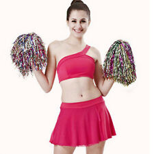 Newest Pom Poms Cheerleader Cheerleading Cheer Pom Pom Dance Party Club Decor
