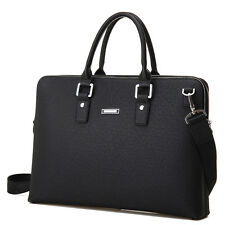 Men's Fashion Leather Briefcase Handbag Business Attache Messenger Laptop Bag