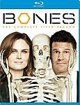 Bones: The Complete Fifth Season (Blu-ray Disc, 2010, 4-Disc Set)
