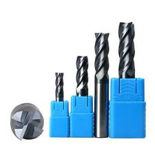 4-Flute HSS Steel End Milling Cutter CNC Mill Engraving Drill Bit M4 - M12 Pick