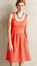 NEW Anthropologie Maeve Caye Scalloped Dress  Size S & M
