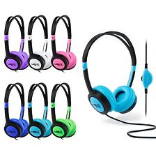 VIBE Kids Childrens Headphones Earphones for Hudle iPod iPhone iPad DVD Tablet
