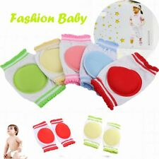 1 Pair Learn To Walk Kids Knee Pad Baby Crawling Sponge Cotton Breathable