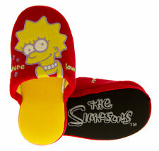 Boys Girls Kids BART SIMPSON Mule Slippers THE SIMPSONS Novelty Slipper Size 9-3