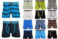 New Crosshatch Mens Cotton Boxer Shorts Underwear In Various Bright Colours