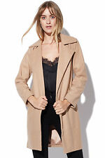 New ALL ABOUT EVE Womens Jessie Coat Tan