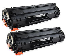 2x Toner cartridges black compatible with HP CE285A