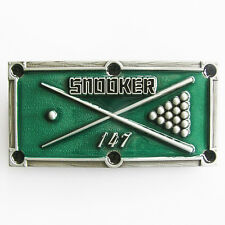 Men Belt Buckle Snooker Belt Buckle Gurtelschnalle Boucle de ceinture
