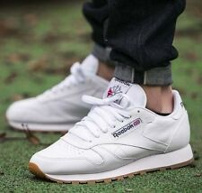 Scarpe Reebok Classic Cl Leather Sneakers 49799 Classic Running Man White Gum