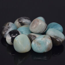 Polished Freefrom Tumbled Natural Amazonite Stone For Crystal Healing Wicca