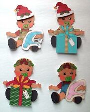 3D-U Pick - XM2 Baby Christmas Scrapbook Card Embellishment