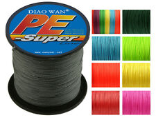 500M testing Super Strong Dyneema Spectra Extreme PE Braided Sea Fishing Line US