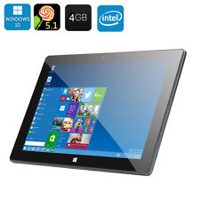10.1 Inch Dual System Tablet PC Windows 10, Android 5.1, Quad Core 4+64GB Tablet