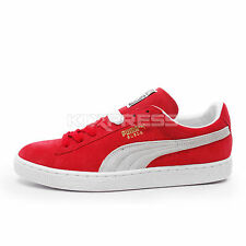 Puma Suede Classic+ [352634-05] Casual Red/White
