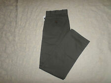 GAP KHAKI CHINO PANTS MENS CLASSIC STRAIGHT FIT SIZE 31X32 GREY COLOR NEW NWT