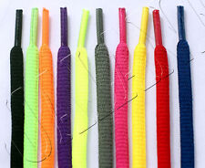 """1/4"""" OVAL Athletic Shoelaces Sport Sneakers Shoe Boot Round Laces Neon Colors"""