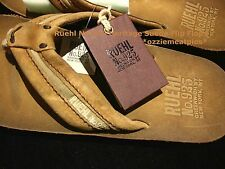 Ruehl No.925 by Abercrombie & Fitch Heritage leather flip flops/sandals NWT auth
