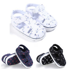 Baby Infant Kids Girl Boys Soft Sole Crib Sandals Toddler Newborn Sneakers Shoes