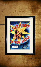 AStarIsBorn1937  Movie advertising posters and framed pictures