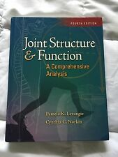 Joint Structure & Function, A Comprehensive Analysis (4th Edition) - Levangie...