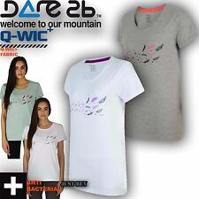 Dare2b T Shirt Womens Feathery Tee Outdoor Gym Sports Running Soft Cotton Top