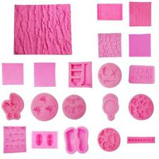 Various 3D Silicone Cake Soap Sugarcraft Mould Decorating Chocolate DIY Mold