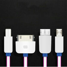1Pcs Charger IOS Android Multifunction 4in1 Convenience Small Size USB Cable