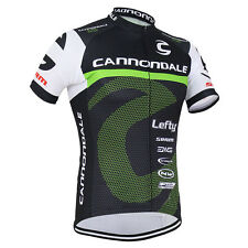 New Men's Outdoor Sports Bike Wear Cycling Jerseys Short Sleeve Tops Polyester