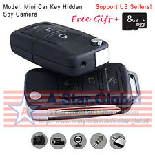 Mini Car Key DVR Motion Detection Camera Hidden Spy Cam Video Recorder IMAD