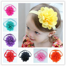 12 Colors Infant Baby Girl's Elastic Hair Band Headband Fashion Hair Accessories