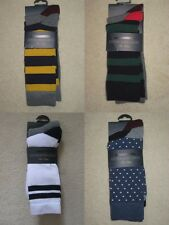 Mens Howick twin pack of Socks one size 6-11, cotton rich seam free toe