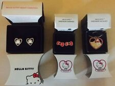 Avon Hello Kitty Earrings 2 styles or Heart necklace ~Choose Style~ Free Ship