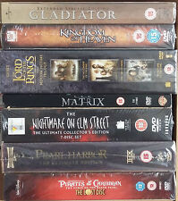 Various DVD Box Sets/ Special Editions; Action/ Adventure, Thriller, Fantasy