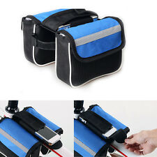 Hot Bike Bicycle Front Frame Tube Bags Outdoor Phone Accessories Storage Pouch
