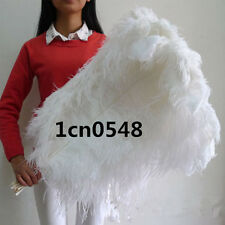 Wholesale*10-100pcs High Quality Natural WHITE OSTRICH FEATHERS 6-24inch/15-60cm