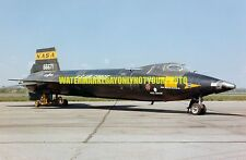 USAF X-15 Color Photo Aircraft Military War X 15 Missile Jet Rocket Aircraft