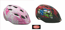 BELL CHILDS KIDS CHILDRENS BIKE CYCLE BICYCLE HELMET Red Boys or Pink Girls
