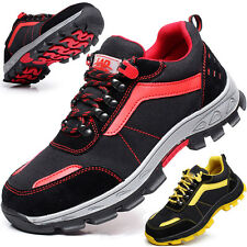Men women Outdoor Steel Toe Safety shoes work camping hiking work Shoes US 4-10