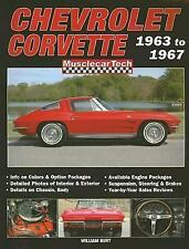 MuscleCarTech: Chevrolet Corvette Sting Ray 1963 To 1967 William Burt C2 327 427