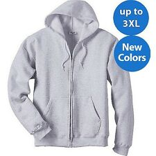 Hanes Big Men's ComfortBlend EcoSmart Fleece Full Zip Hood. Brand New