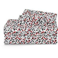 Latitude Geo Blocks Reversible Bed in a Bag Bedding Set. Shipping Included